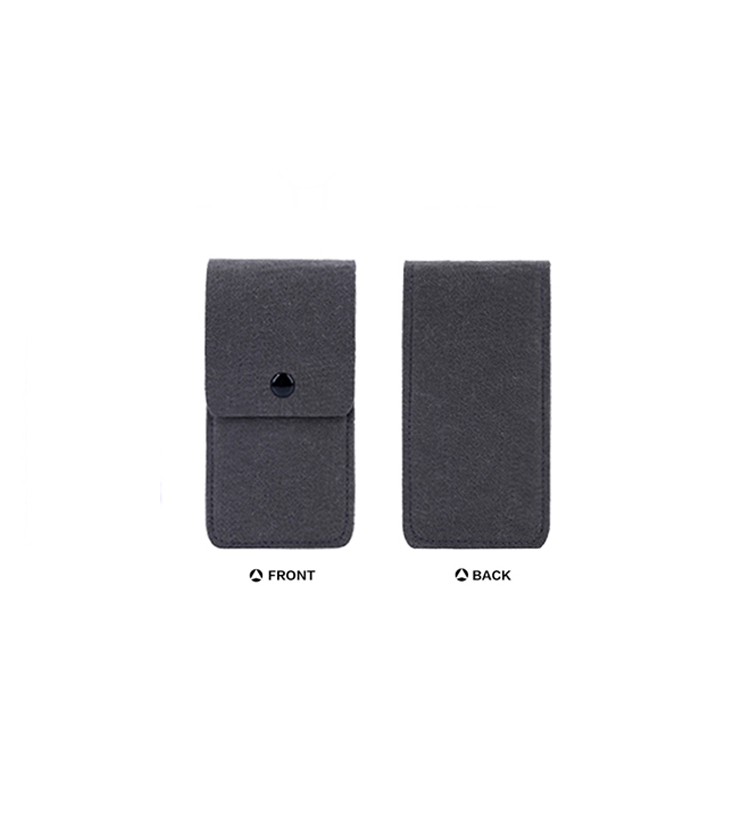 High quality Personalized felt card holder wallet