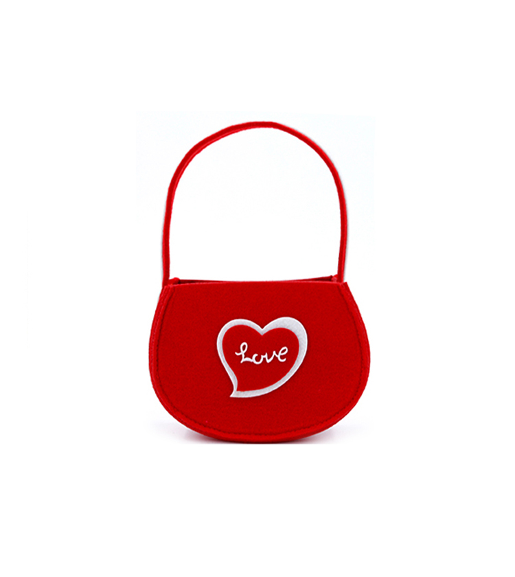 Valentine's day decoration handbag candy bag