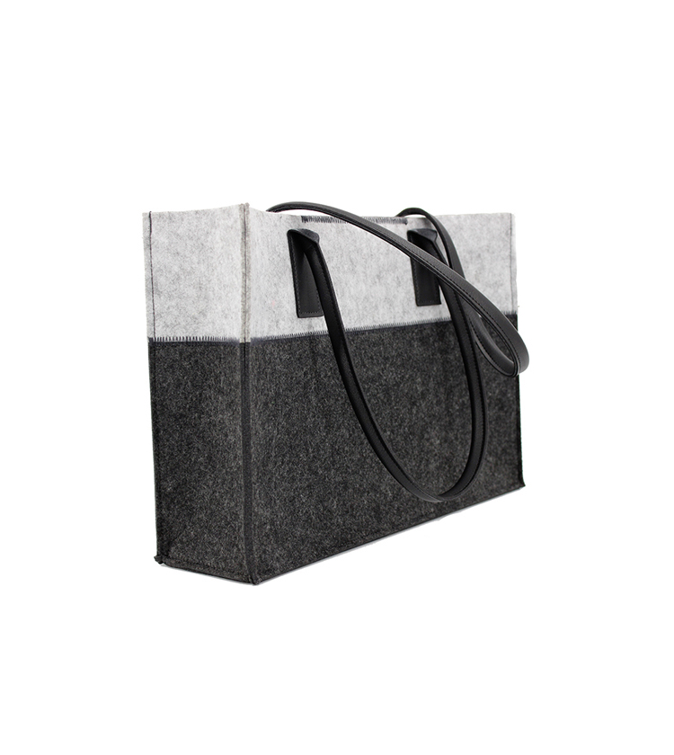 Personality And Fashion Felt Bags Handbags Women