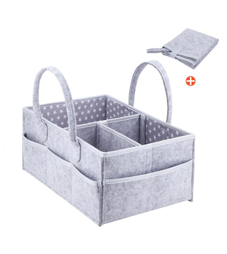 New Design Portable Baby Diaper Storage Caddy organizer
