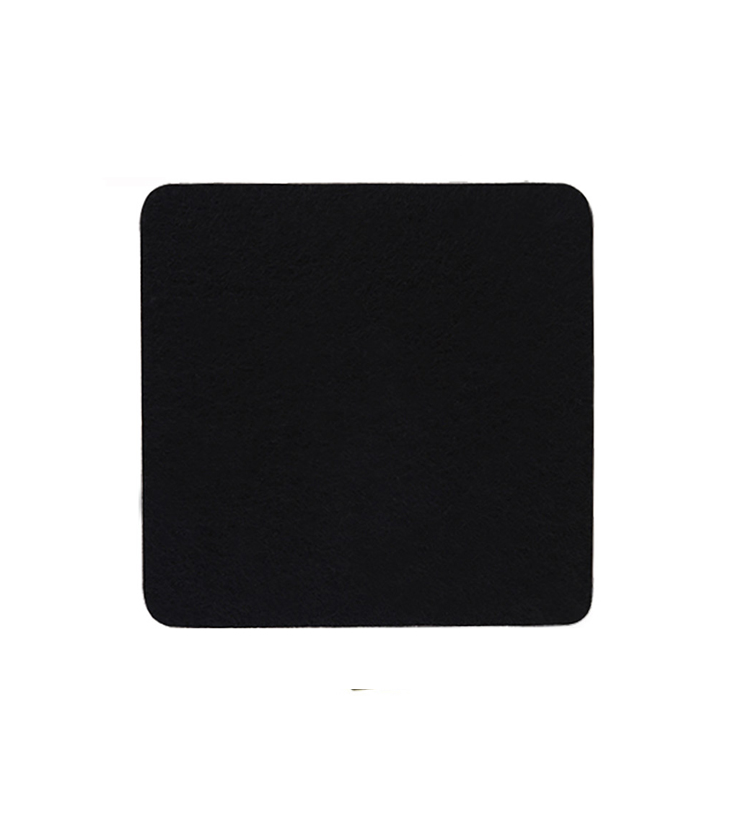 Stain Resistant Washable Place Mats Absorb Spills Black Felt Placemat for Wood T